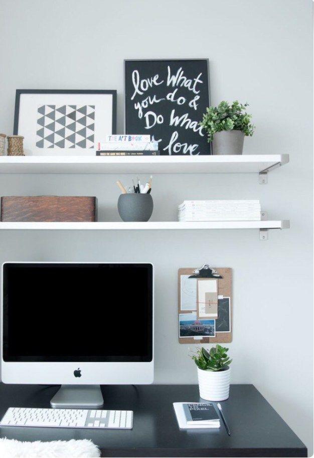 100 home office ideas for small apartment office pinterest rh pinterest com