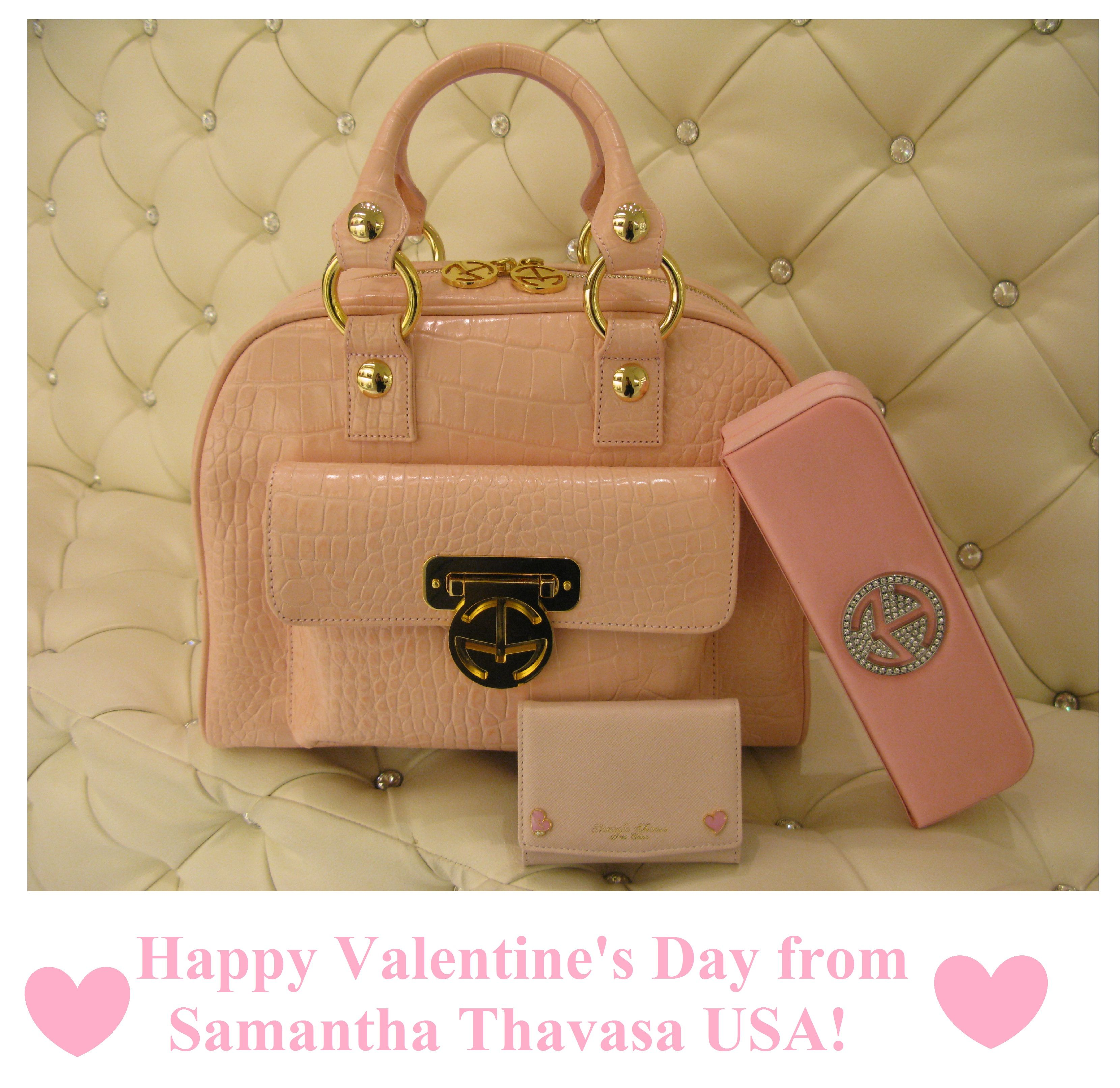 fb02c8838a18 Samantha Thavasa by Tinsley Mortimer Eleanor Satchel in pink ...