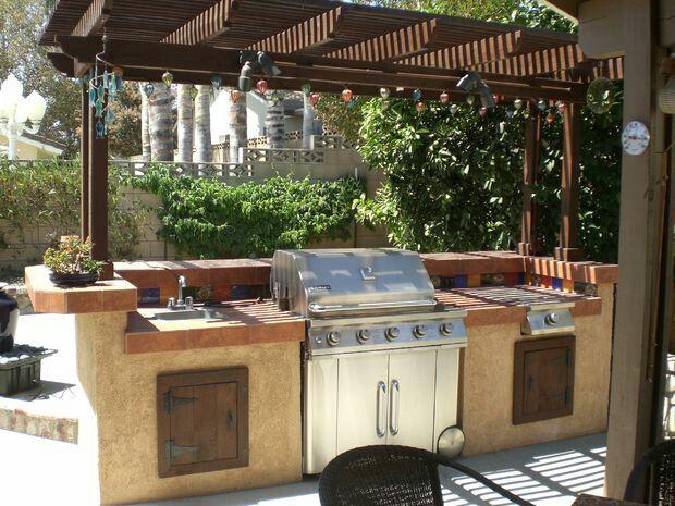 slide in grill bbq in 2019 build outdoor kitchen diy outdoor rh in pinterest com