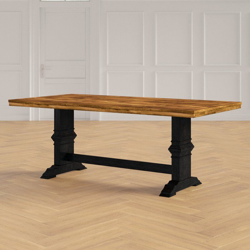 Glenrose Solid Wood Dining Table In 2020 Dining Table Solid Wood Dining Table Dining Table In Kitchen
