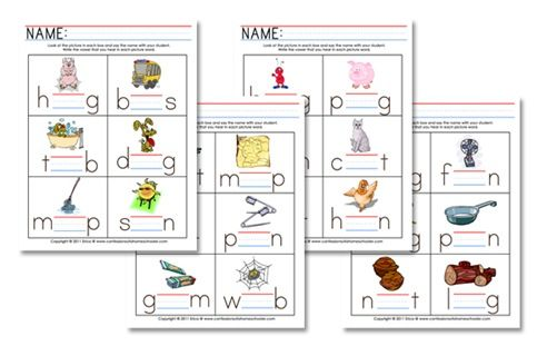 Middle Vowel Sounds Kindergarten Pinterest Vowel