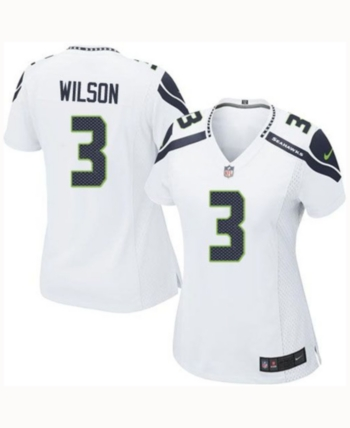 8484f2a4392 Nike Women s Russell Wilson Seattle Seahawks Game Jersey - White M ...