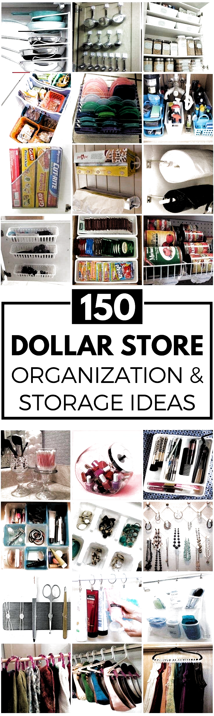 Photo of 200 DIY Dollar Store Organization Ideas Get organized for less with these dollar…
