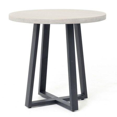 masonry concrete 32 bistro round dining table robinson project rh pinterest com