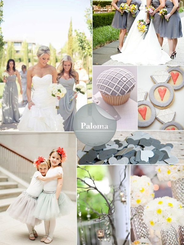 2014 Spring Wedding Colors Trends Dreamy Wedding Colors And