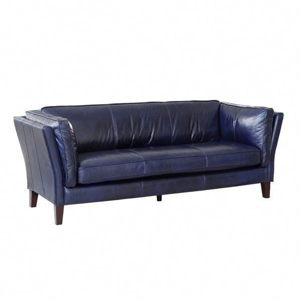 lazzaro leather navy alberta sofa a few black leather sofa ideas rh pinterest com
