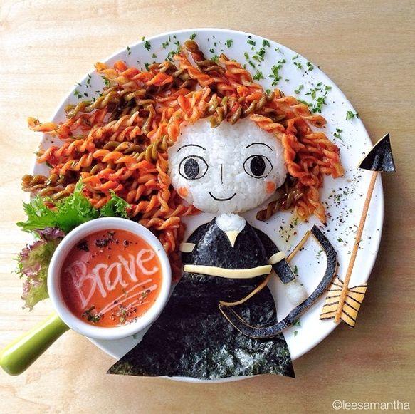 Cocina creativa a la hora de comer 4 the l o ve of for Cocina creativa para ninos