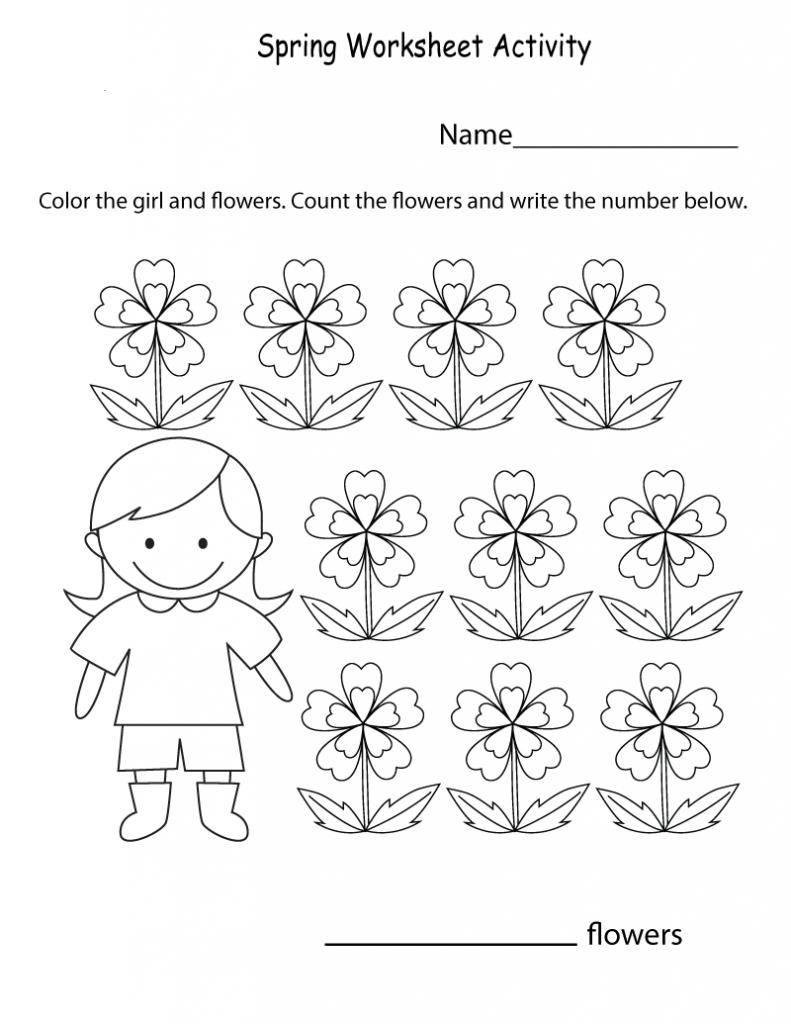 Spring Worksheets Best Coloring Pages For Kids Spring Worksheet Spring Worksheets Kindergarten Spring Kindergarten [ 1024 x 791 Pixel ]