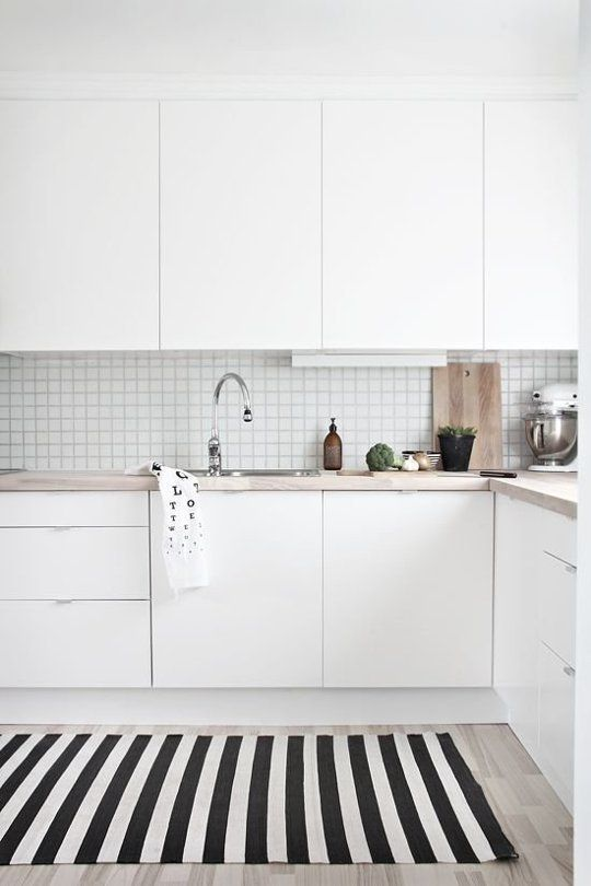 this white kitchen looks straight out of a scandinavian dream the rh pinterest com