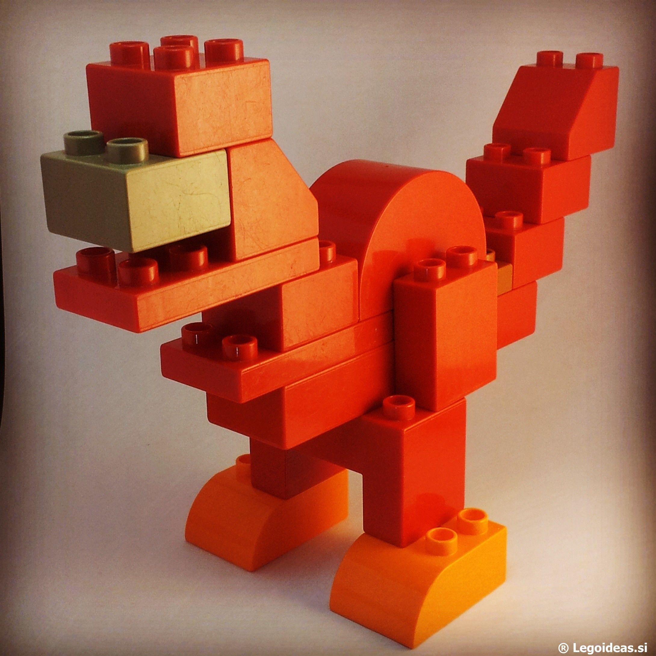 Lego duplo dinosaur lego duplo tyrannosaurus rex duplo - Modele construction maison lego ...
