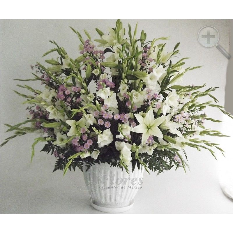Floreria - Flores Elegantes de Mexico arreglo gladiolas