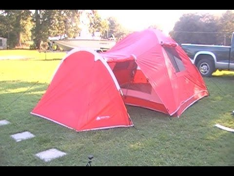 Buy Ozark Trail 4-Person Dome Tent with Vestibule & Ozark Trail 4-Person Dome Tent with Vestibule and Full Coverage ...