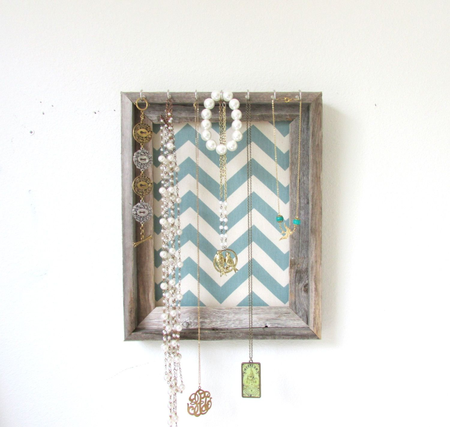 Cute jewelry organizer Dream Home Pinterest Organisations and