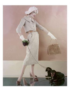 karen radkai vogue february 1957 | Luscious loves: Vintage fashion photographer Karen Radkai