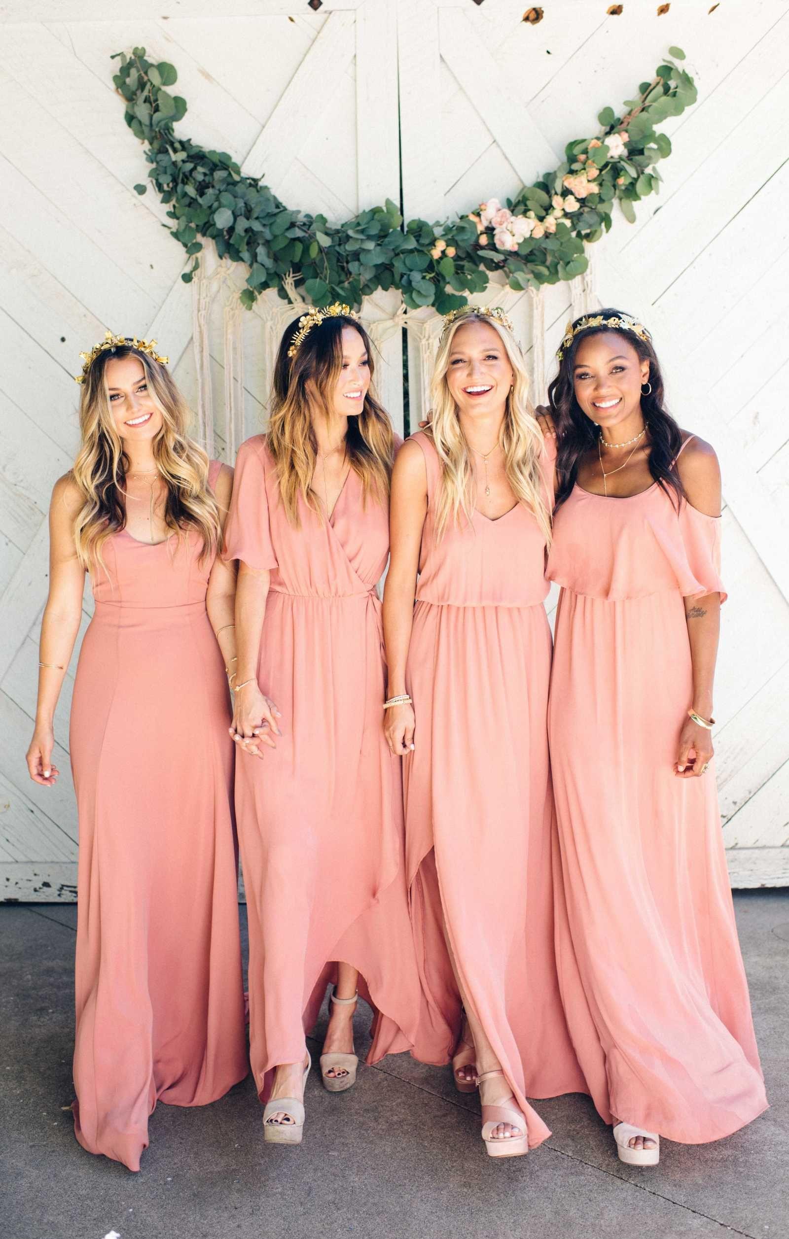 Estilismo para Damas de honor en tu boda | Pinterest | Damitas de ...