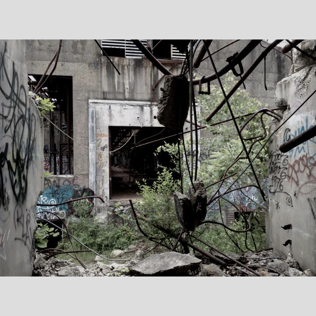 Old Abandoned Buildings, Abandoned