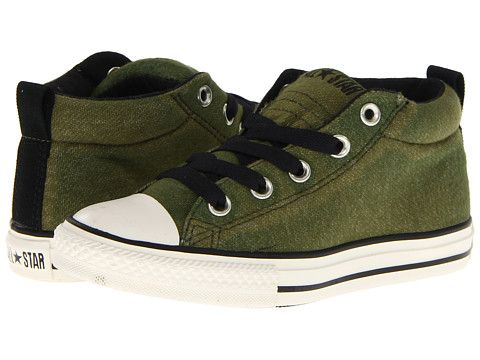 Converse Kids Chuck Taylor® All Star® Street Mid Slip (Toddler Youth ... 5d7edc4bb