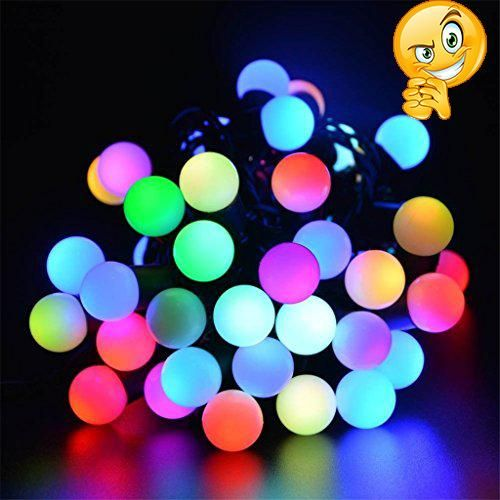 LED Ball String Lights, OFTEN® 5M 50 LEDs Waterproof Globe Starry - halloween club decorations