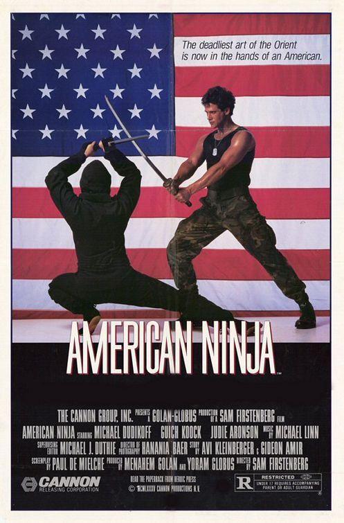 American Ninja Cartazes De Filmes Antigos Capas De Filmes Cartazes De Cinema