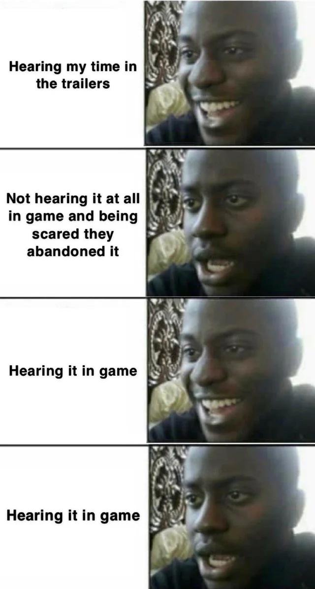 [Spoiler] How I felt during the game
