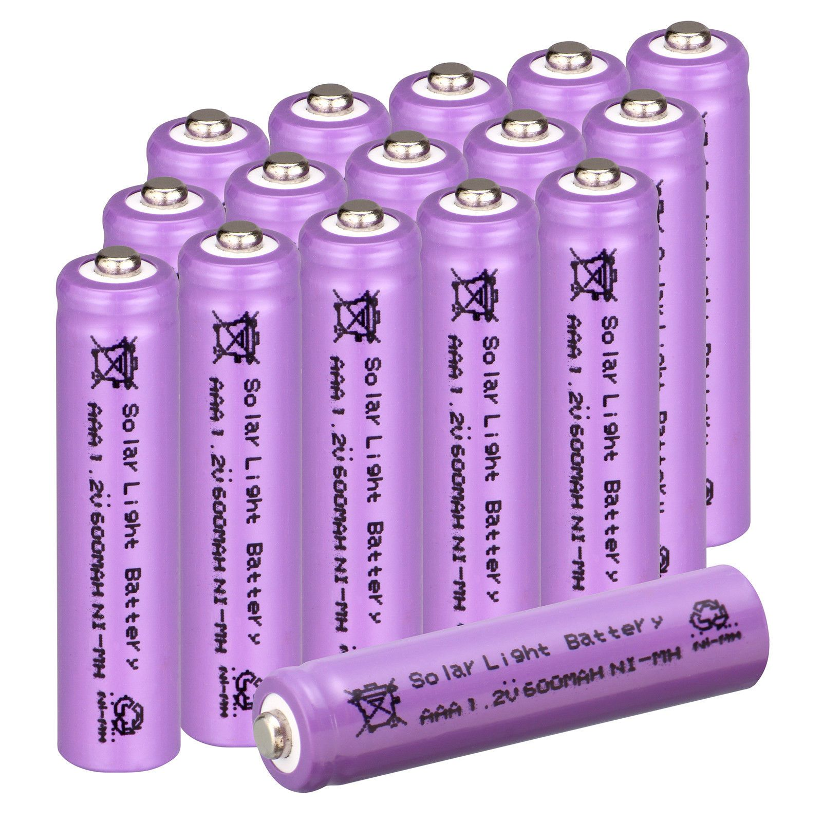 2 4 Aud 2 20 Aaa Ni Mh 600mah 1 2v Garden Solar Light Rechargeable Batteries Purple Ebay Electronics Solar Battery Battery Lights Solar Lights