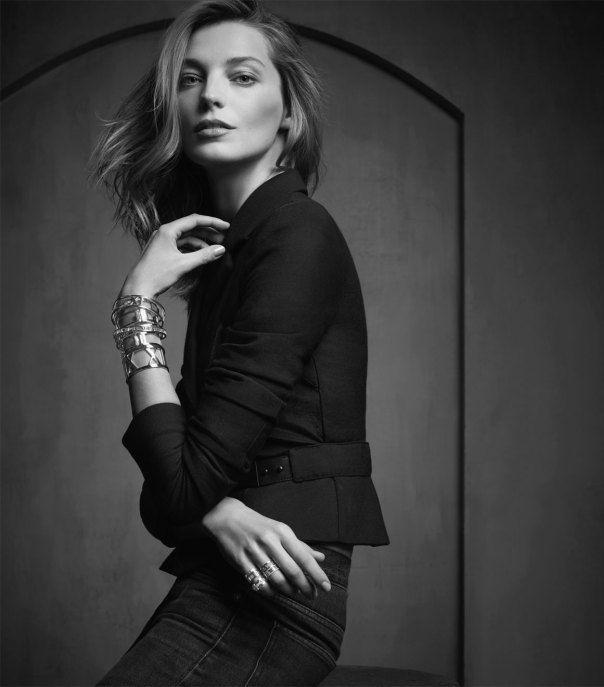 Daria Werbowy by Michael Thompson for Tiffany & Co. Spring Summer 2014