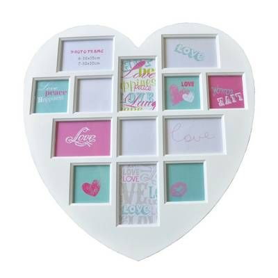 Heart collage, Collage photo and Large white on Pinterest