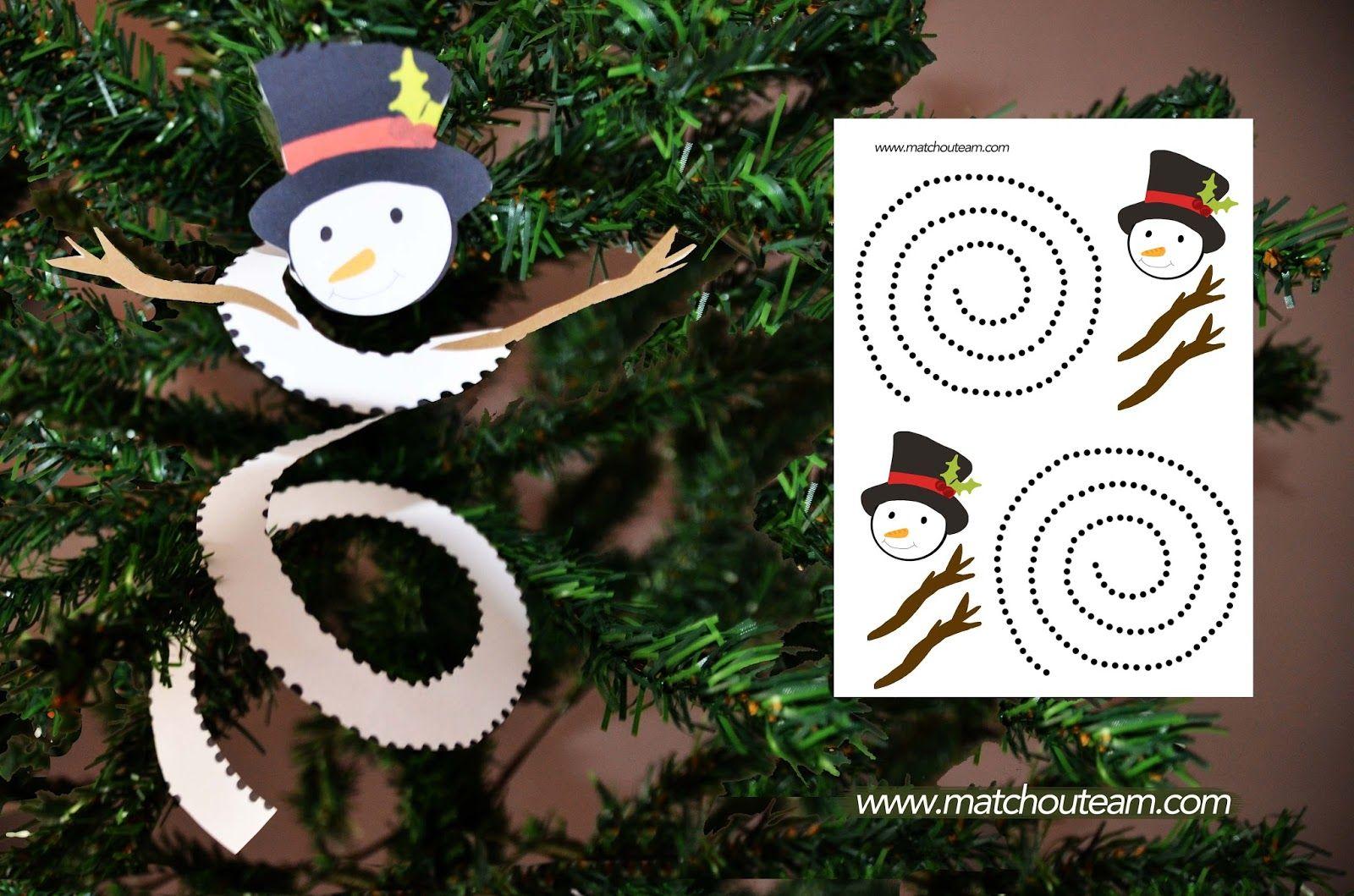 Bonhomme de neige d couper zimn tvo en s d tmi winter kids crafts bonhomme de neige - Bonhomme de neige a imprimer gratuit ...