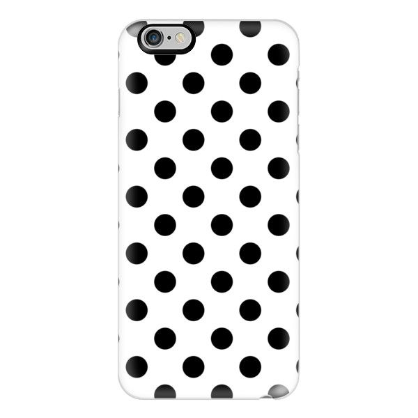 iPhone 6 Plus/6/5/5s/5c Case - Polka Dots ($40) ❤ liked on Polyvore featuring accessories, tech accessories, iphone case, apple iphone cases, polka dot iphone case, iphone cover case and slim iphone case