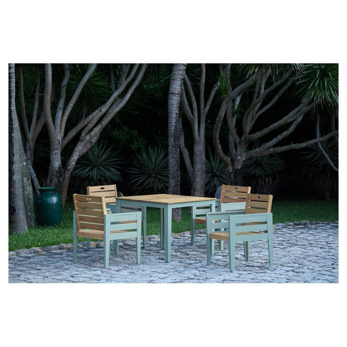 Norfolk Leisure Florenity 4 Seater Dining Set with Cushions