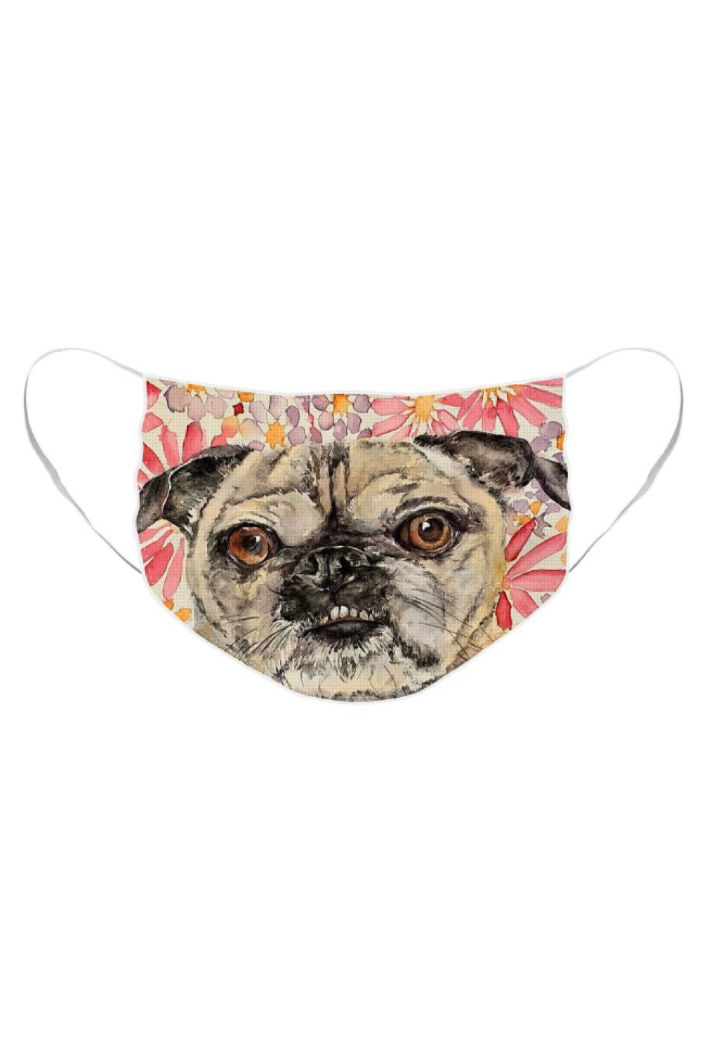 French Bulldog Face Mask For Sale By Liana Yarckin Masks For Sale French Bulldog Mask Design