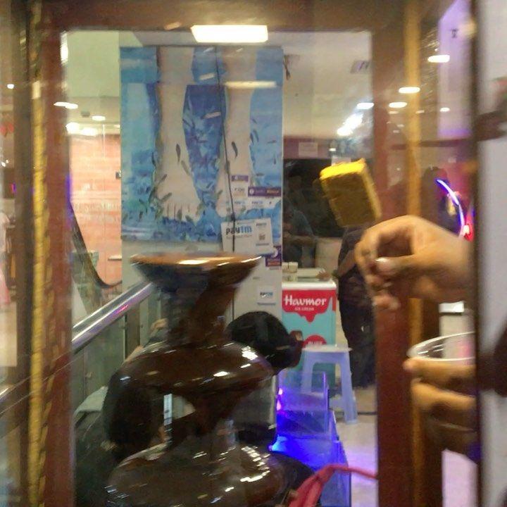 Chocolate fountain ⛲️
