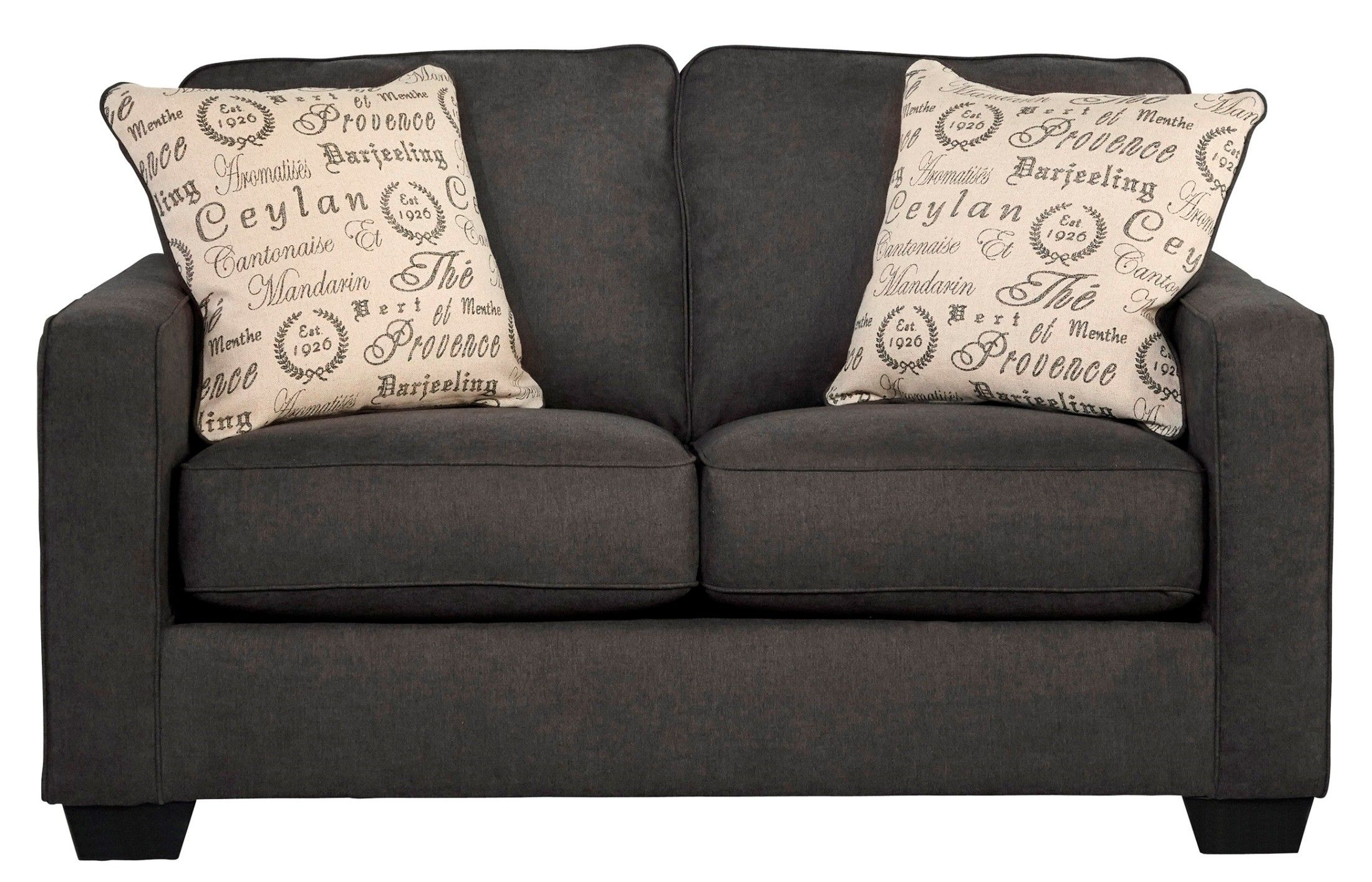 alenya charcoal living room set in 2018 furniture pinterest rh pinterest com