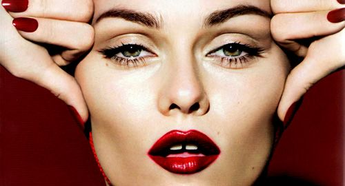 Image result for french vogue red lips