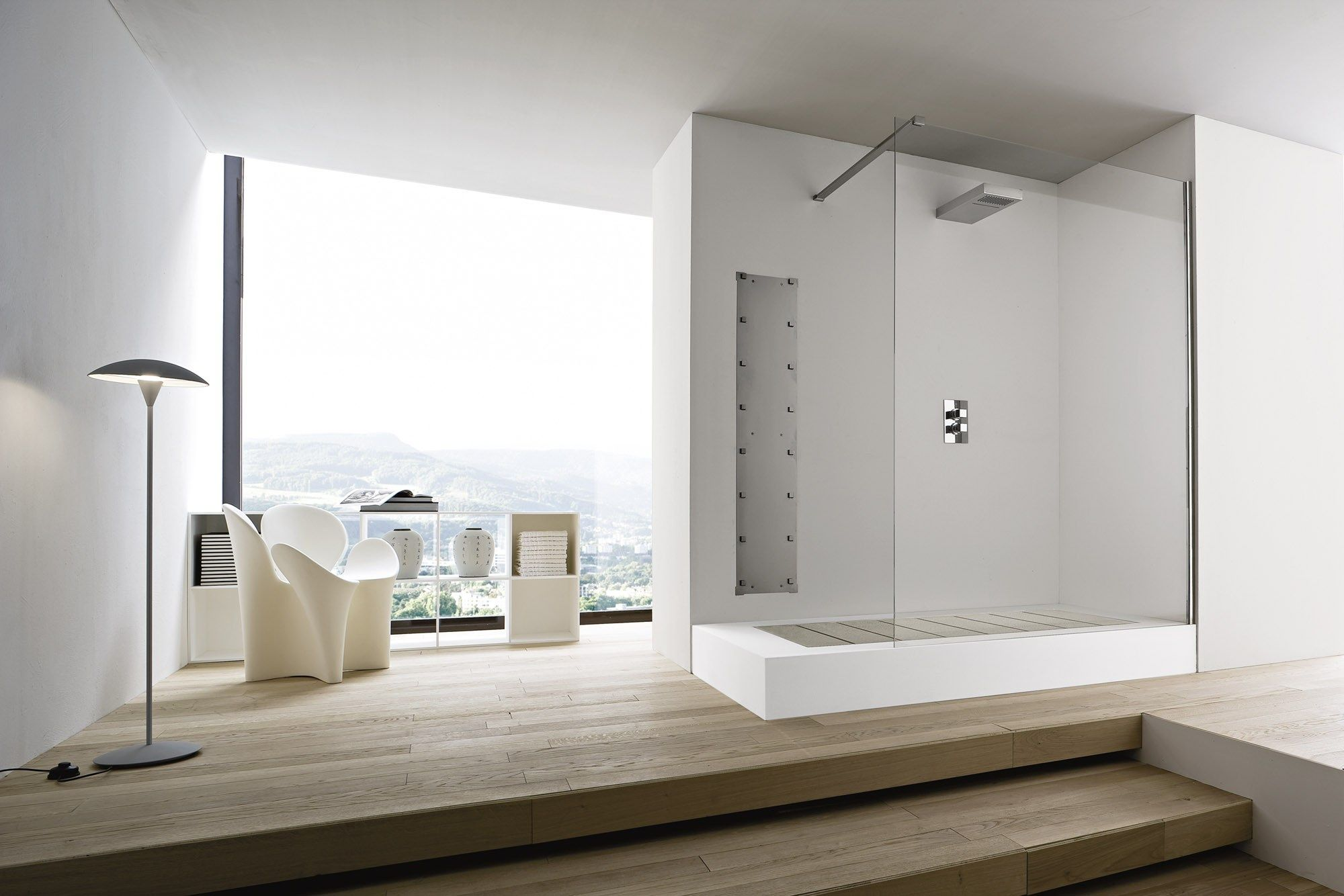 Vasche Da Bagno Design Moderno : Unico vasca da bagno con doccia by rexa design design imago design