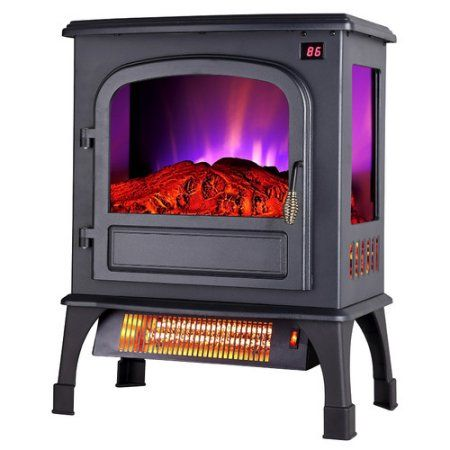 pro fusion heat fp203r t3q 20 inch 750 1500 watt electric stove with rh pinterest com
