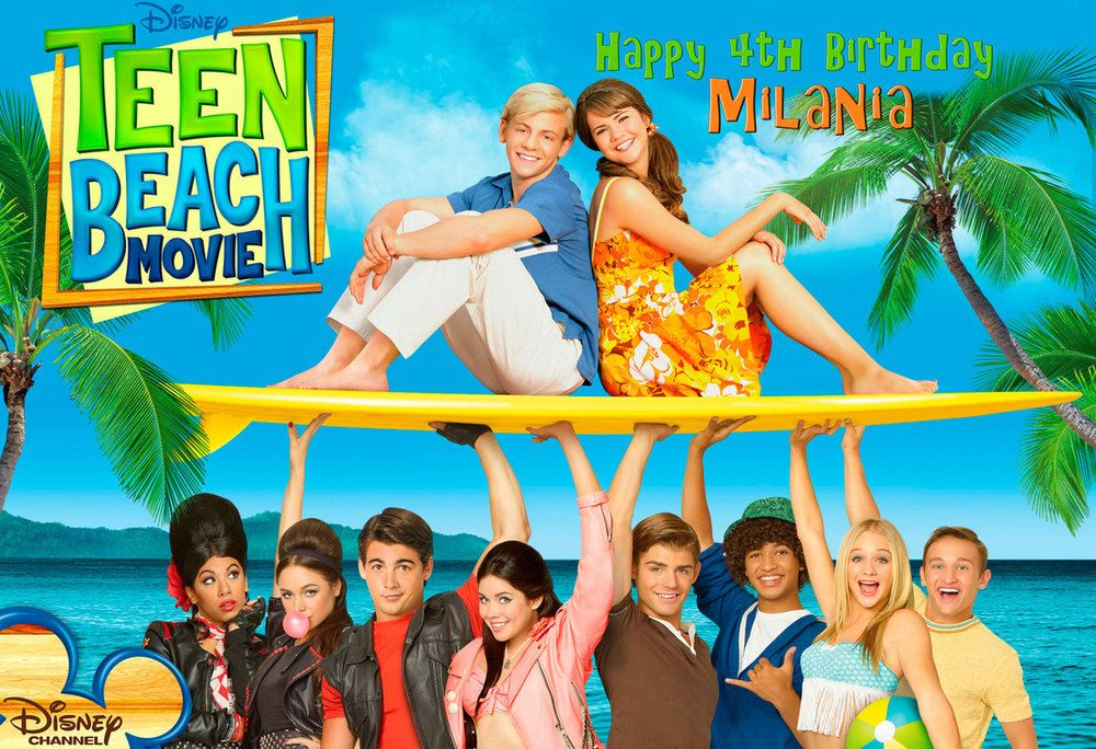 Pin On Teen Beach Movie Party