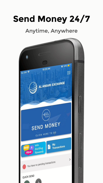 Al Ansari Exchange App Money transfer app Money