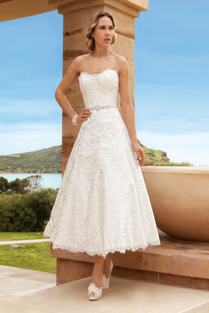Wedding dress for older bride  Destination Romance by Demetrios gown  Wedding Gowns  Pinterest