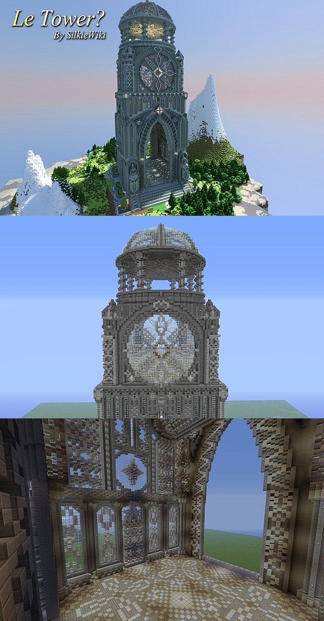 . Awesome tower design   Minecraft   Minecraft construction  Minecraft