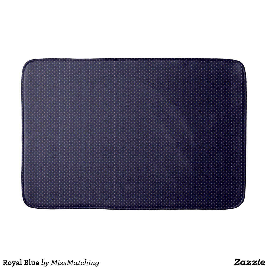Royal Blue Bath Mats Bathroom Decor Pinterest - Blue bath mat for bathroom decorating ideas