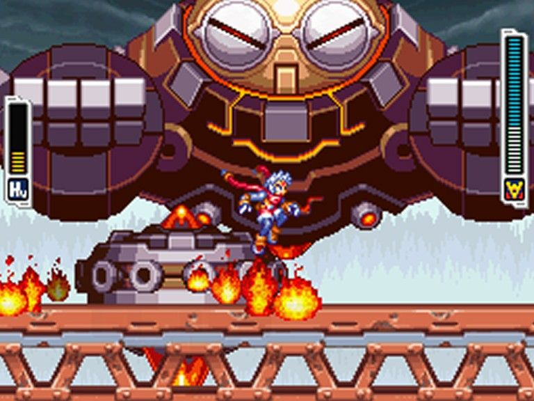 Mega Man ZX Advent, known in Japan as , is a video game developed by Inti Creates and published by Capcom for the Nintendo DS handheld game console. Description from imgarcade.com. I searched for this on bing.com/images