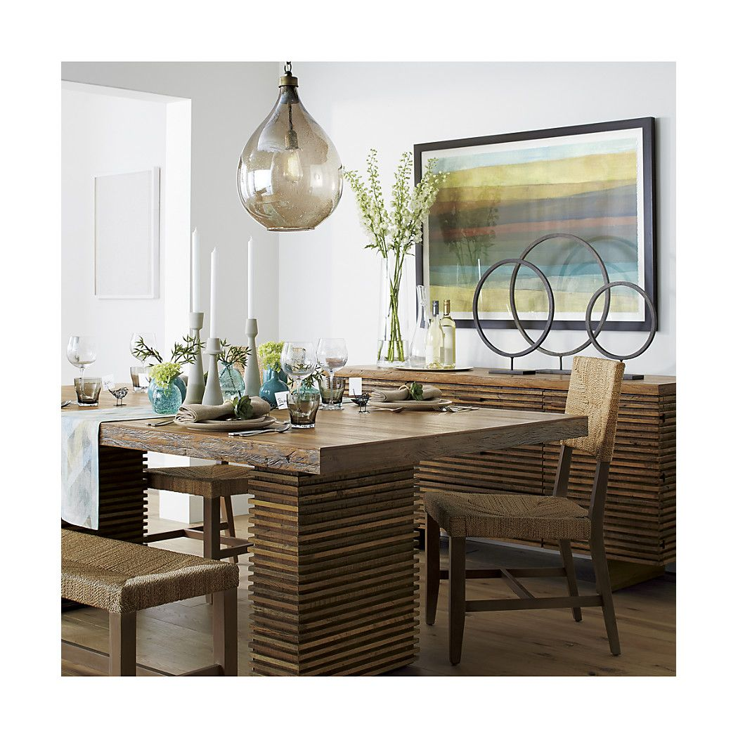 Paloma II Reclaimed Wood Dining Table Shop