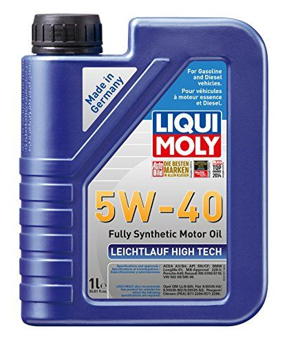 Liqui Moly 2331 Leichtlauf High Tech 5w 40 Engine Oil 1 Liter 12 97 Rapid Oil Delivery At Low Temperatures High Oils Diesel Particulate Filter Engineering