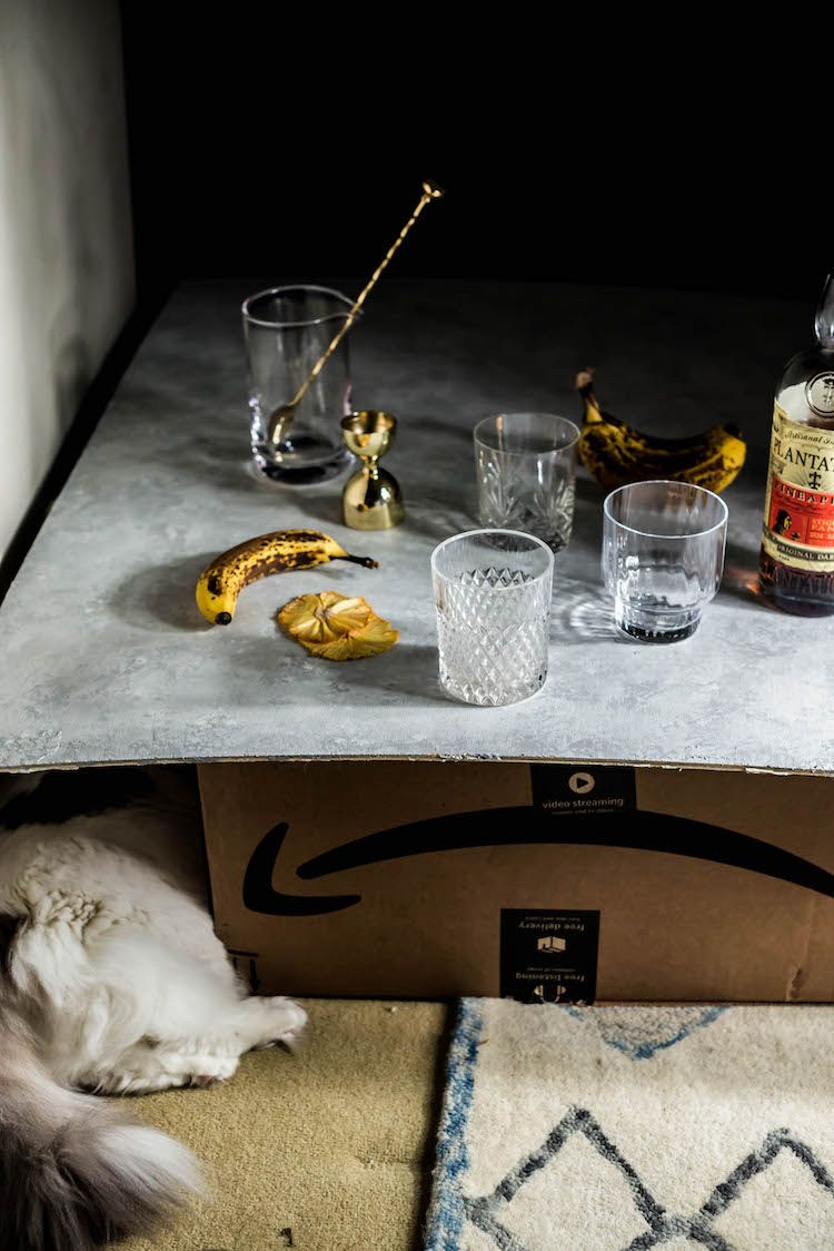 Coco Banana Pineapple Rum Old Fashioned   Pineapple rum ...