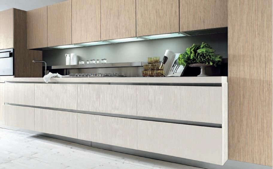 penelope has three different versions with handle with c channel or with aluminum profile with on c kitchen design id=42913