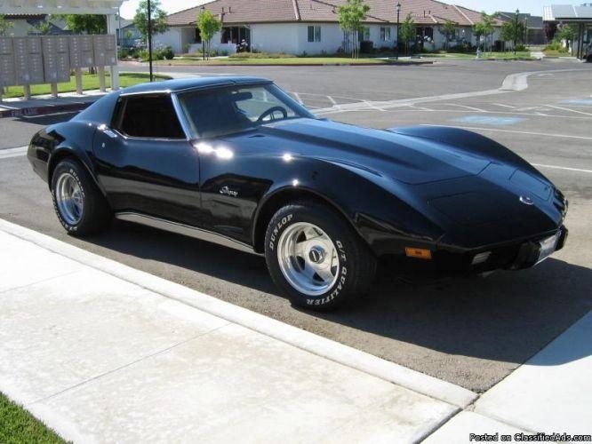 1975 Chevy Corvette Stingray Want One Corvette Stingray 1975 Corvette Custom Muscle Cars