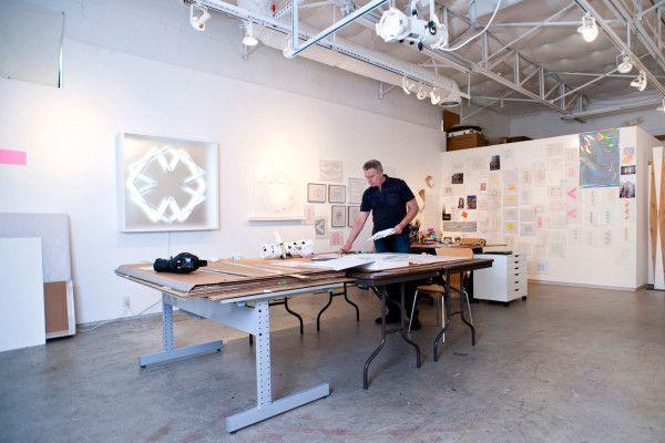 art studio lighting design studio