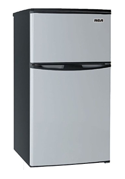 3 2 Cubc Foot 2 Door Fridge And Freezer Stainless Steel Freezer Fridge Freezers Can Dispenser