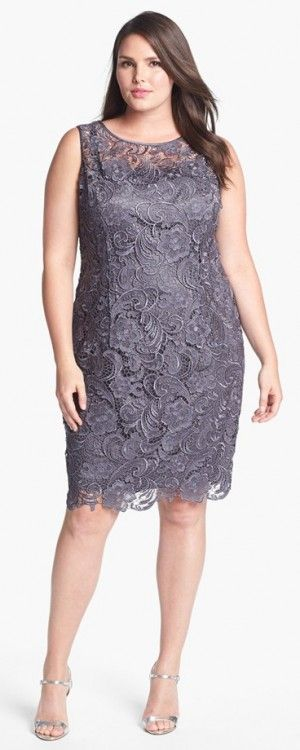Super Elegant Lace Dress In Plus Size A Perfect Dress For A Mother